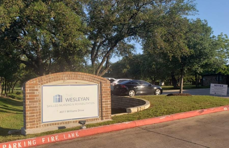The Wesleyan nursing home in Georgetown reported one employee with coronavirus April 28. (Ali Linan/Community Impact Newspaper)