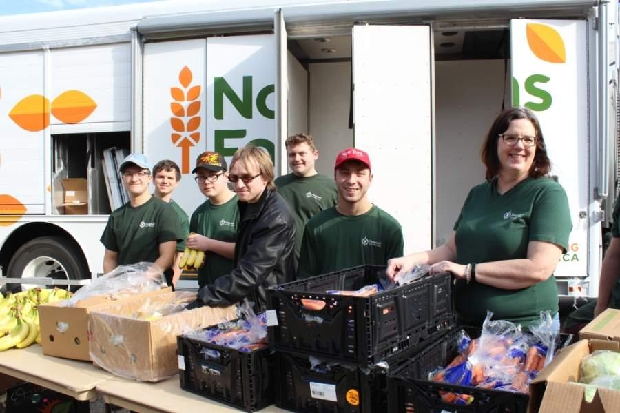 North Texas Food Bank will hold a mobile food pantry May 5 at Plano Senior High School. (Courtesy North Texas Food Bank)