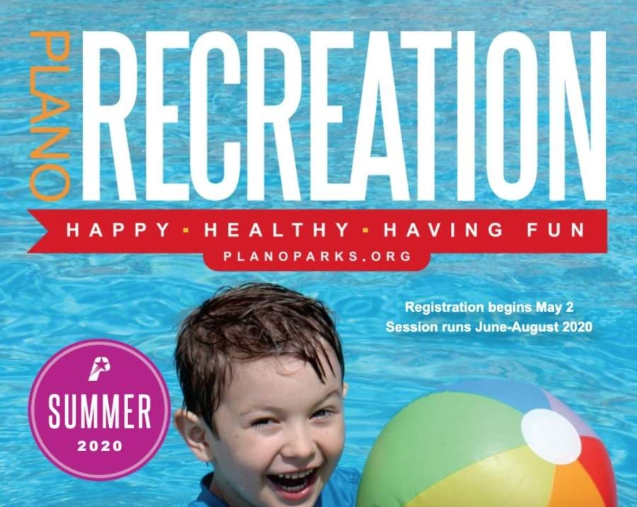 Plano Parks & Recreation will be holding a modified summer activity schedule this year. (Screenshot via city of Plano website)