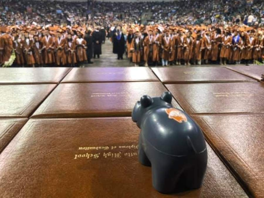 The ceremony is scheduled for May 29 at Hutto Memorial Stadium, located at 573 Chris Kelley Blvd., Hutto. (Courtesy Hutto ISD)