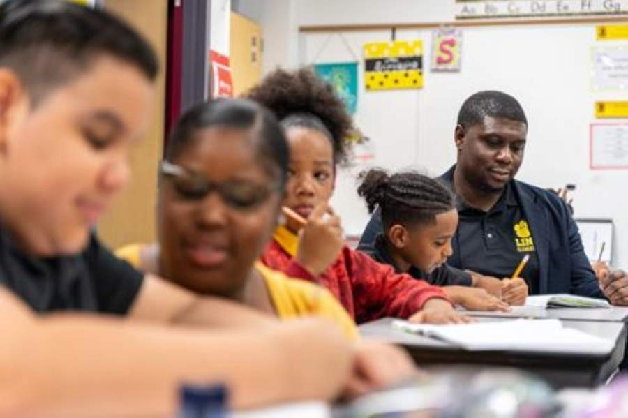 At 34 years old, Spring ISD's Link Elementary Principal Justin Jones (right) died May 1 in an automobile crash. (Courtesy Spring ISD)
