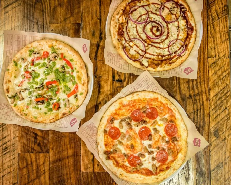 MOD Pizza will open this summer at 12029 N. Grand Parkway E., Ste. 100, New Caney. (Courtesy Signorelli Co.)