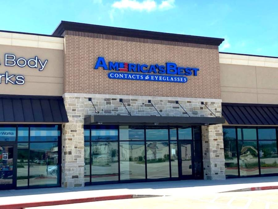 America's Best Contacts & Eyeglasses, a discount eyewear and eye examination provider, will open this summer at 21550 Market Place Drive, Ste. 200, New Caney. (Courtesy Signorelli Co.)