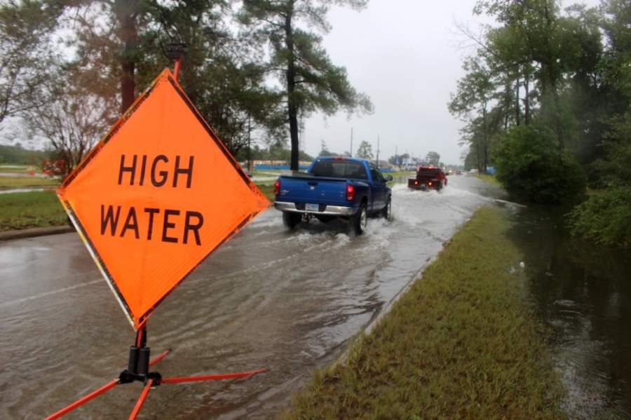 A study in Harris County into the potential use of underground tunnels to alleviate flooding is moving forward. (Kelly Schafler/Community Impact Newspaper)