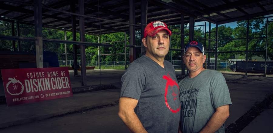 After several years of studying cider production, co-owners Adam Diskin and Todd Evans opened Diskin Cider in the spring of 2018. (Courtesy Diskin Cider)
