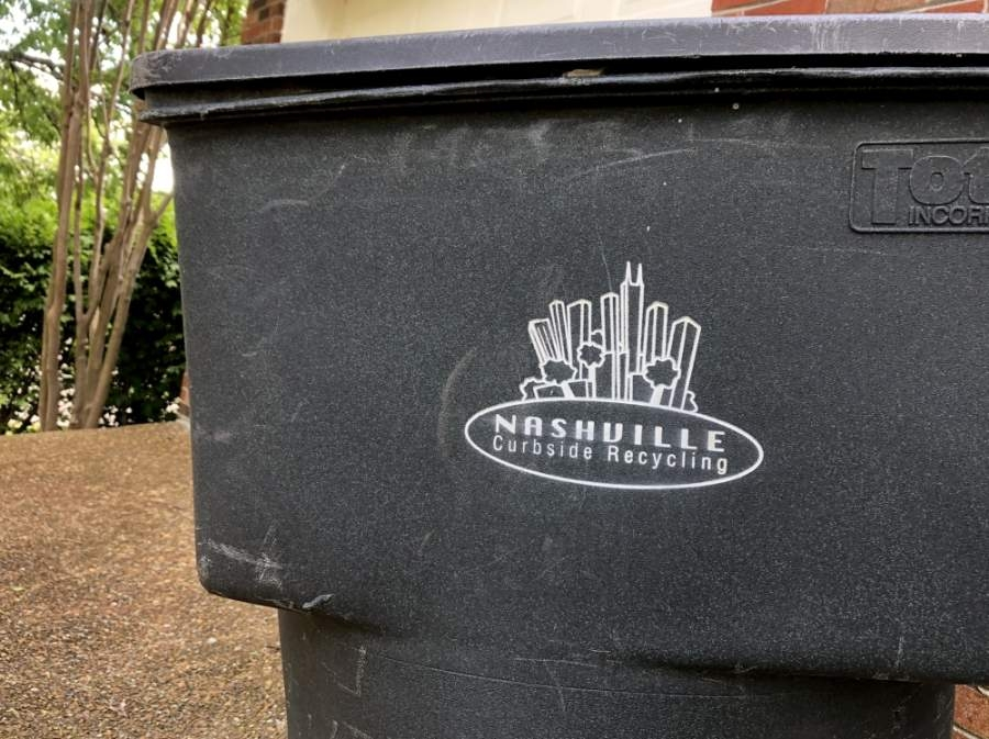Nashville's curbside recycling program will not increase to twice per month for the time being, according to city officials. (Dylan Skye Aycock/Community Impact Newspaper)