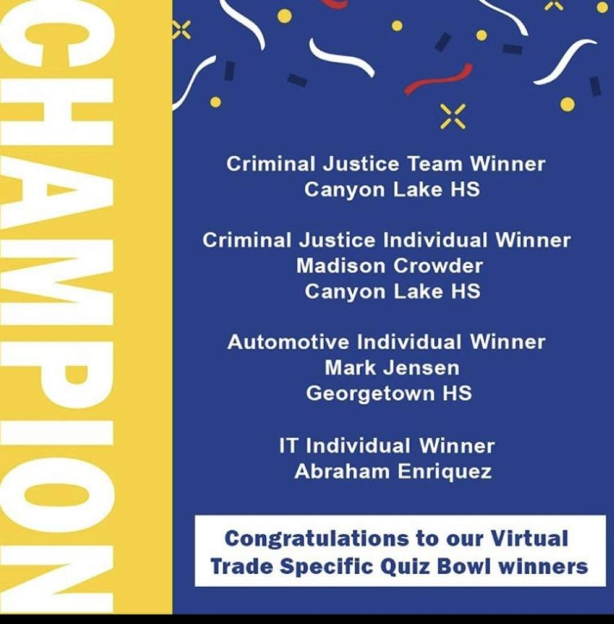 Lake Law took home the state title. (Courtesy Comal ISD)