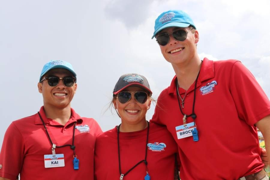 The part-time, seasonal positions open include those in water safety, janitorial, food and beverage, and maintenance departments. (Courtesy Typhoon Texas)