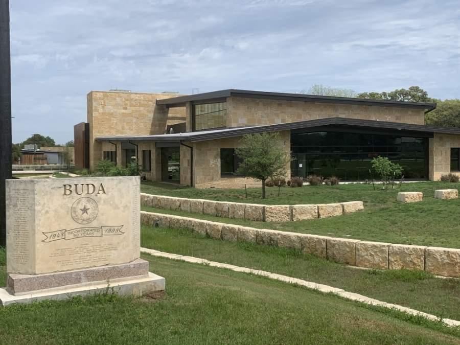 Buda City Hall will open May 18. (Joe Warner/Community Impact Newspaper)