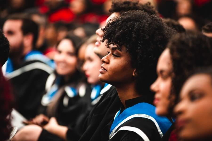 Houston ISD's graduation ceremonies will be held virtually this year. (Lia Castro/Pexels)