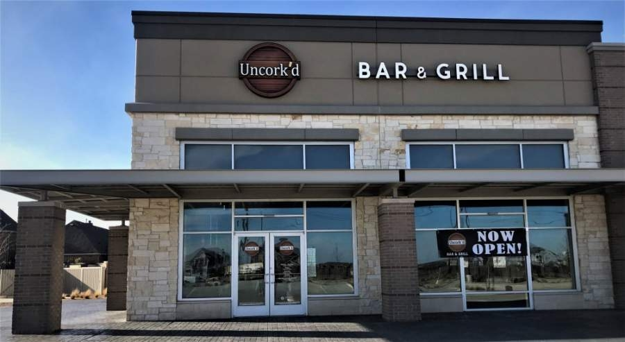 The restaurant opened March 10 on Main Street. (Courtesy Uncork'd Bar & Grill)