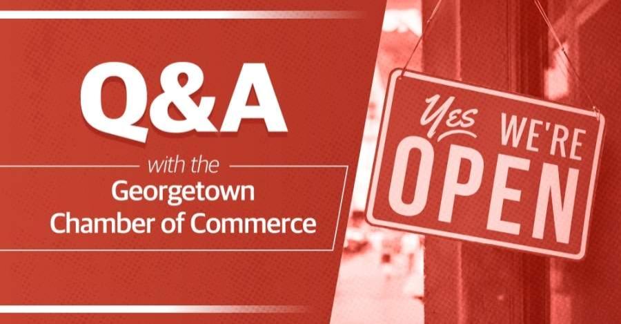 Georgetown Chamber of Commerce President Jim Johnson spoke on the effect of the coronavirus on local businesses. (Chance Flowers/Community Impact Newspaper)