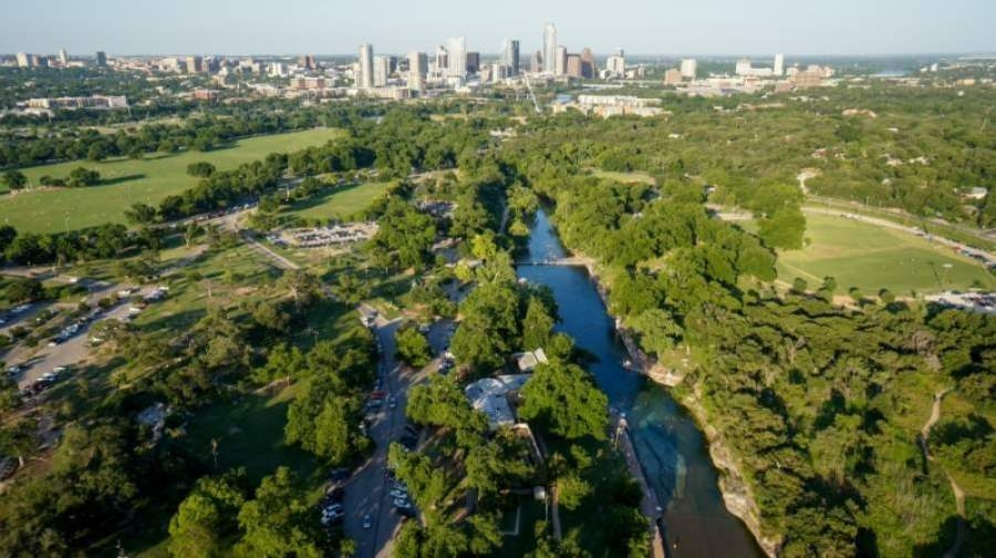 Austin will limit visitors at three city parks by requiring day passes. (Courtesy Brent Hall/AccentAp.com)