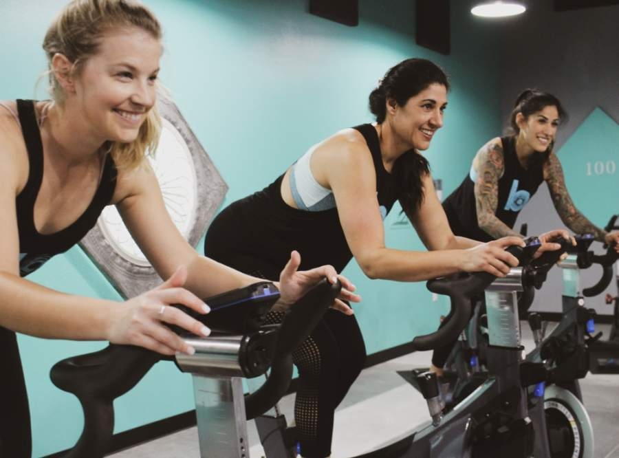 Bloc Cycle, located at 111 N. Vista Ridge Drive, Ste. 204, plans to restart cycling classes May 20. (Courtesy Bloc Cycle)