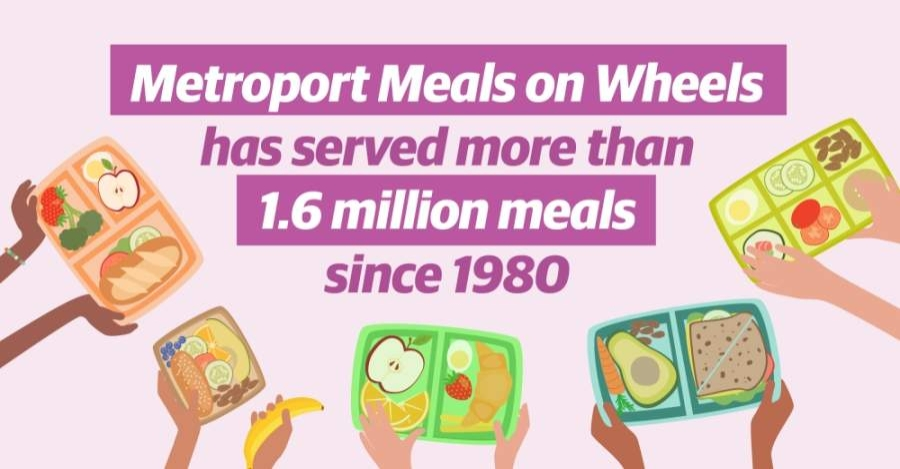 Metroport Meals on Wheels is celebrating 40 years of serving seniors and other housebound individuals in 2020. (Katherine Borey/Community Impact Newspaper)