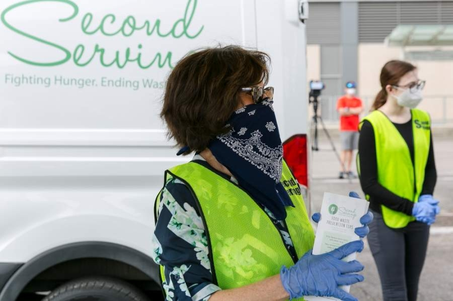 Bethel Heavenly Hands, Bread of Life, Community Family Center and Wesley Community Center have partnered with Second Servings to bring relief to more hungry Houstonians. (Courtesy Second Servings and Emily Jaschke)