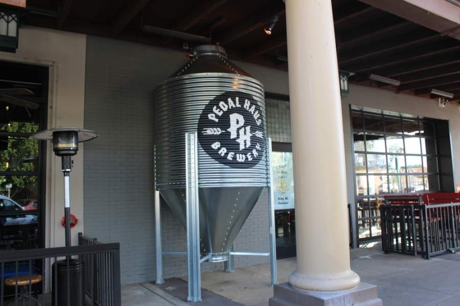 Pedal Haus Brewery has introduced a chief sanitizing officer. (Alexa D'Angelo/Community Impact Newspaper)
