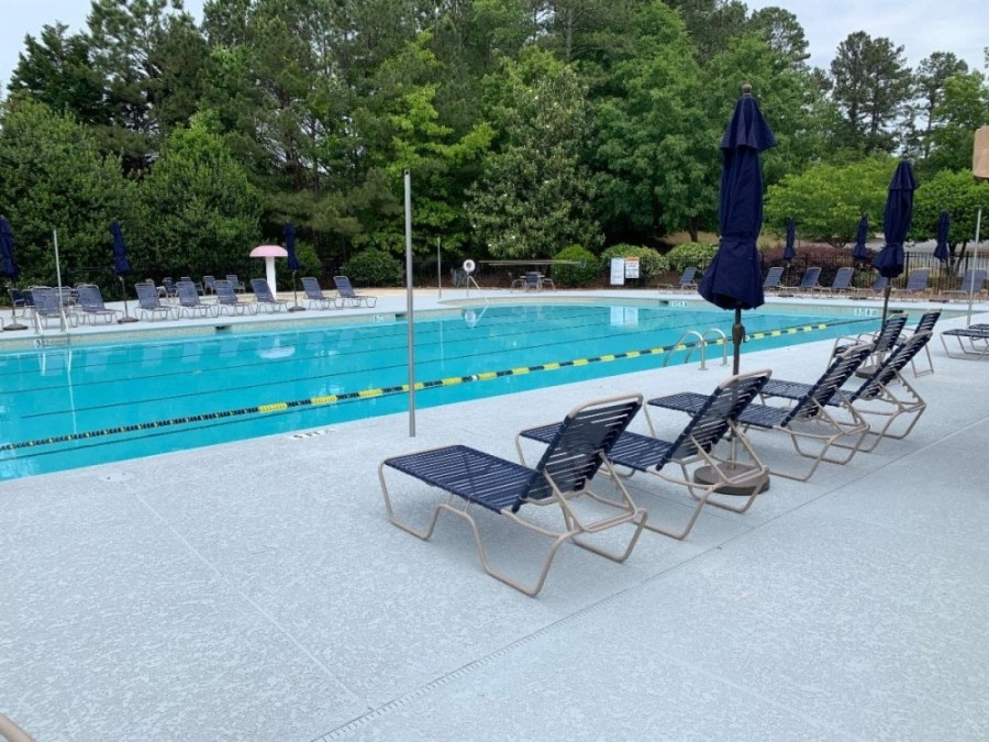 The Milton City Pool will open for the summer at 11 a.m. May 23 with new safety measures to enforce social distancing and public health precautions. (Courtesy city of Milton)