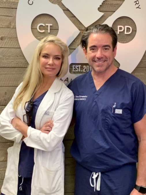 The practice is led by Drs. Steve and Angie Hernandez. (Courtesy Central Texas Pediatric Dentistry)