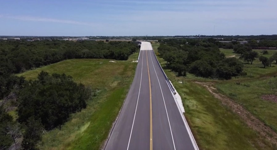 Georgetown's Southwest Bypass officially opened May 26. (Courtesy Williamson County and city of Georgetown)