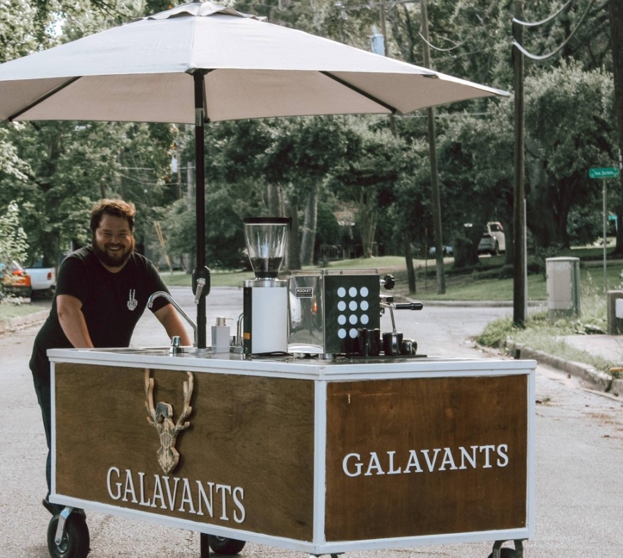 Owners Bradley Bailey and Makenzie Rankin will open Galavant's Coffee in June. (Courtesy Galavant's Coffee)