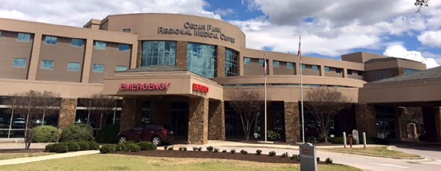 Cedar Park Regional Medical Center is a 108-bed, for-profit hospital located at 1401 Medical Parkway, Cedar Park. (Community Impact Newspaper file photo)