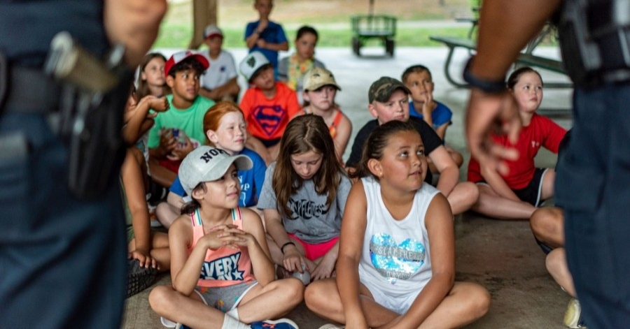 """""""With summer camp 2020 canceled, summer camp 2021 will be the best one yet,"""" Recreation Program Coordinator Daulton Mobley said. (Courtesy Pflugerville Parks and Recreation)"""