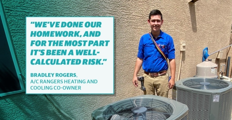 Bradley Rogers, A/C Rangers Heating and Cooling