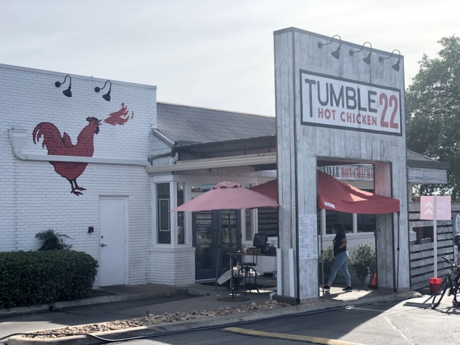 Tumble 22's original location on Burnet Road opened in 2018. (Jack Flagler/Community Impact Newspaper)