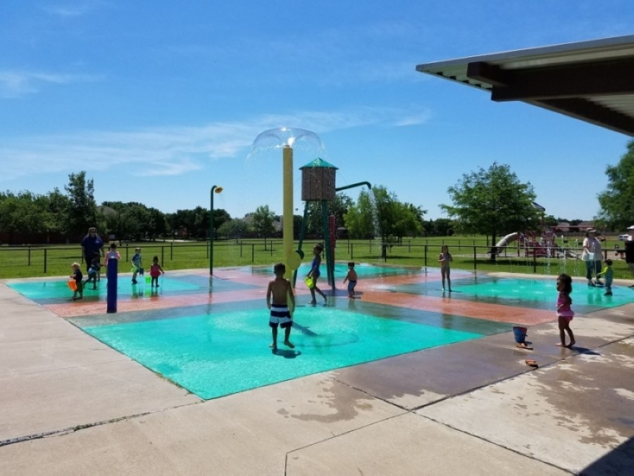 Frisco announced the spray park at J.R. Newman Park will reopen June 5 along with the spray parks at Frisco Commons and Shepherd's Glen Park. (Courtesy city of Frisco)
