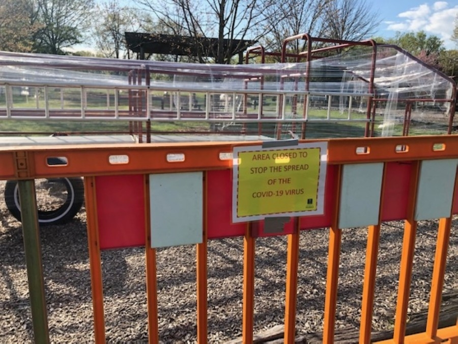 Playgrounds in the city have been closed for the past several weeks. (Wendy Sturges/Community Impact Newspaper)