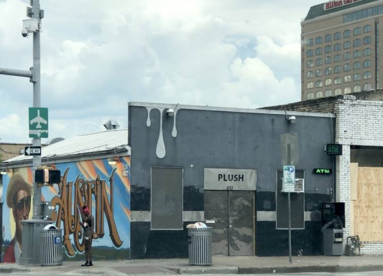 Plush, a nightclub that had been open on Red River Street since 2000, will not reopen. (Jack Flagler/Community Impact Newspaper)