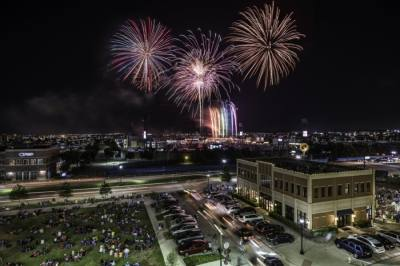 The city's annual Fireworks Extravaganza is scheduled to cap off two days of events as part of Frisco Freedom Fest 2020 on July 3-4. (Courtesy Visit Frisco)