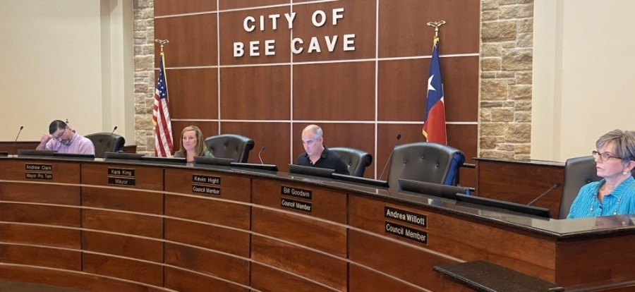 Bee Cave City Council Member Bill Goodwin did not attend a June 17 council meeting that was intended in part to allow him respond to allegations that he violated the city's home rule charter. (Brian Rash/Community Impact Newspaper)