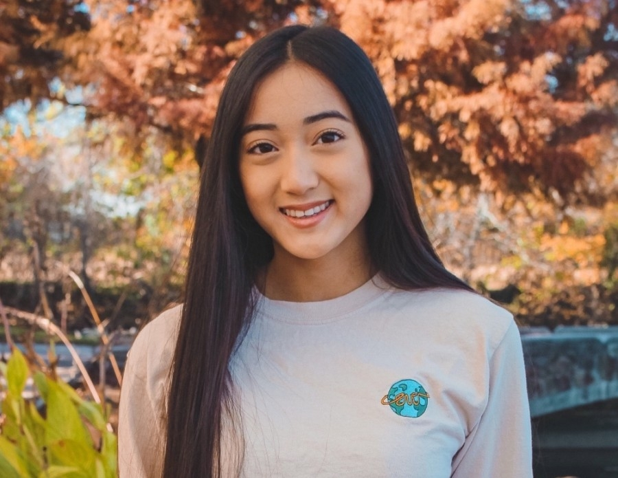 Alyssa Le, the CEO of EVO, was awarded a $4,000 scholarship from the Texas Department of Transportation for her work with the company. (Courtesy Alyssa Le)