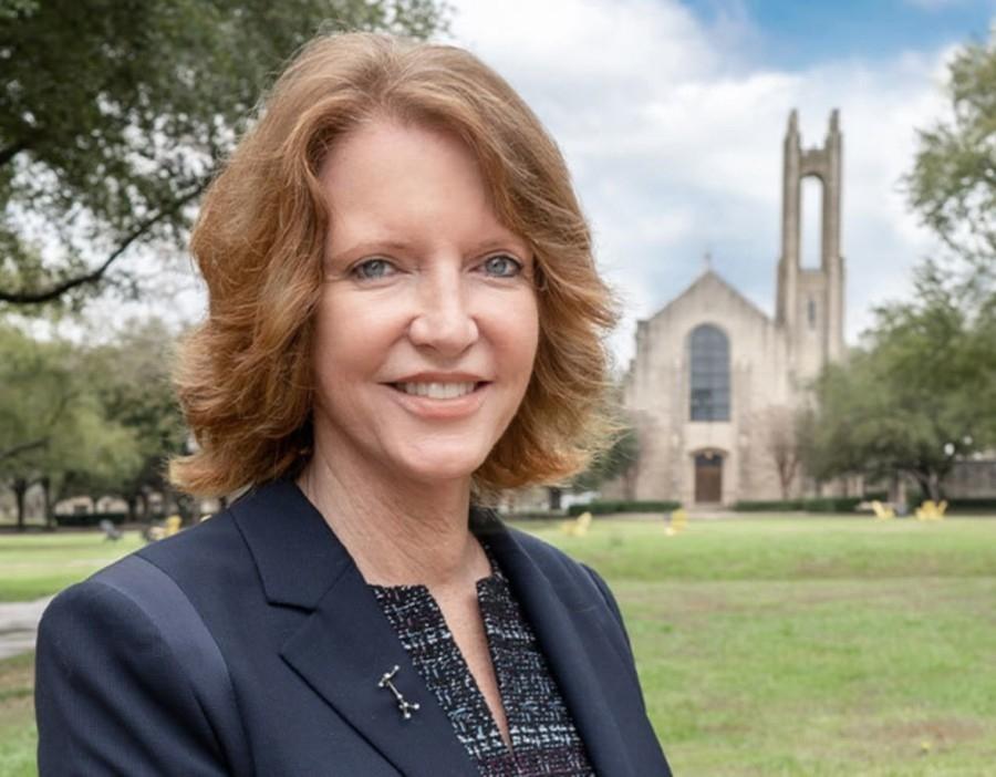 Laura E. Skandera Trombley became Southwestern University's first woman president July 1. (Courtesy Southwestern University)