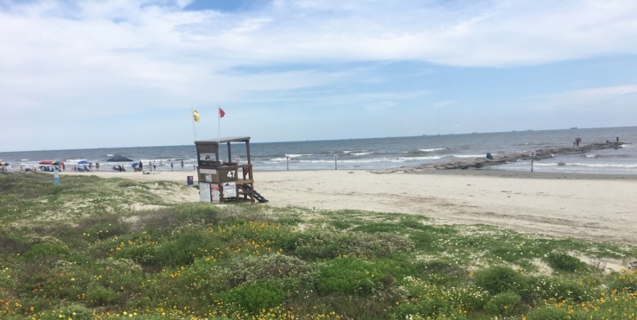 The City of Galveston has decided to close all beaches for the 4th of July weekend. (Hannah Zedaker/Community Impact Newspaper)