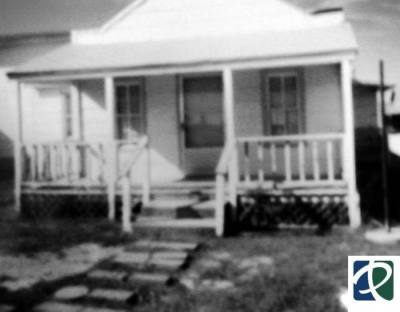 The original St. Mary Missionary Baptist Church was built in 1910 by the Historic Colored Addition's original settlers. (Courtesy city of Pflugerville, Friends of the Pflugerville Public Library, Pflugerville Public Library)