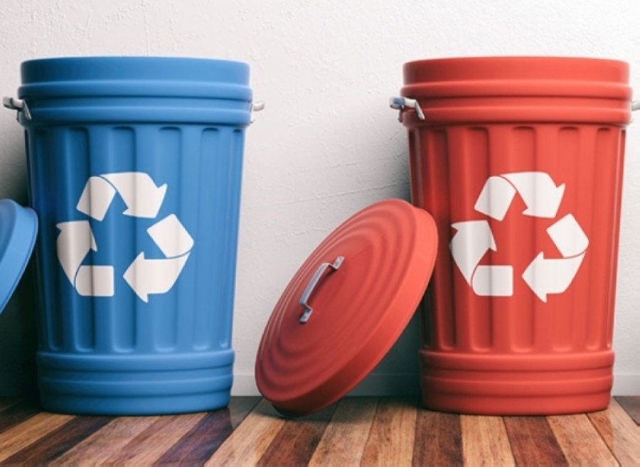 The city's Blue Bin program had been suspended since March. (Courtesy Fotolia)