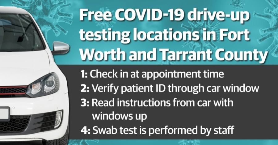 There are free COVID-19 testing sites operating in the city of Fort Worth and in Tarrant County. Both entities also offer a number of paid testing options. (Katherine Borey/Community Impact Newspaper)
