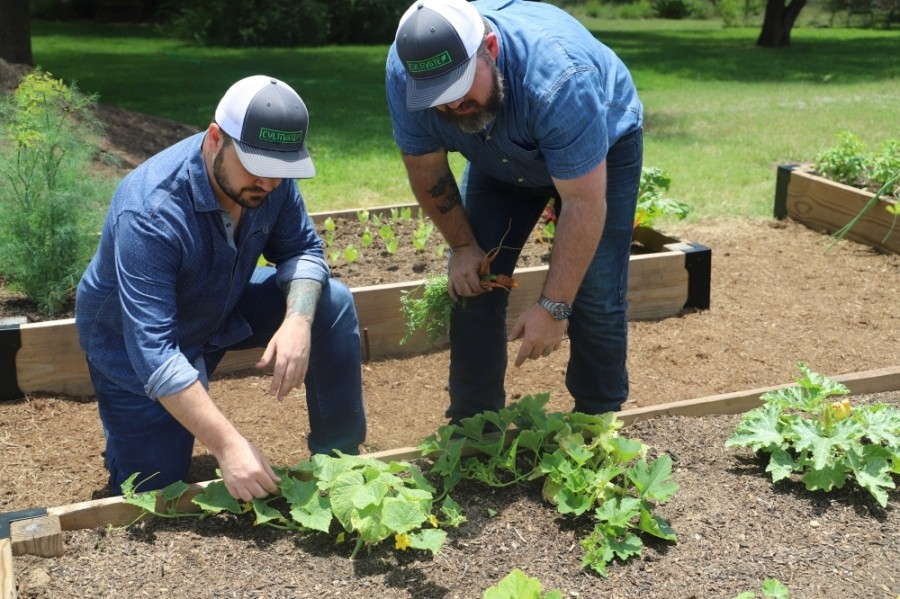 Cultivate is a new company from brothers Nathan and Luke Heath that helps local residents get started with an at-home garden. (Courtesy Cultivate)