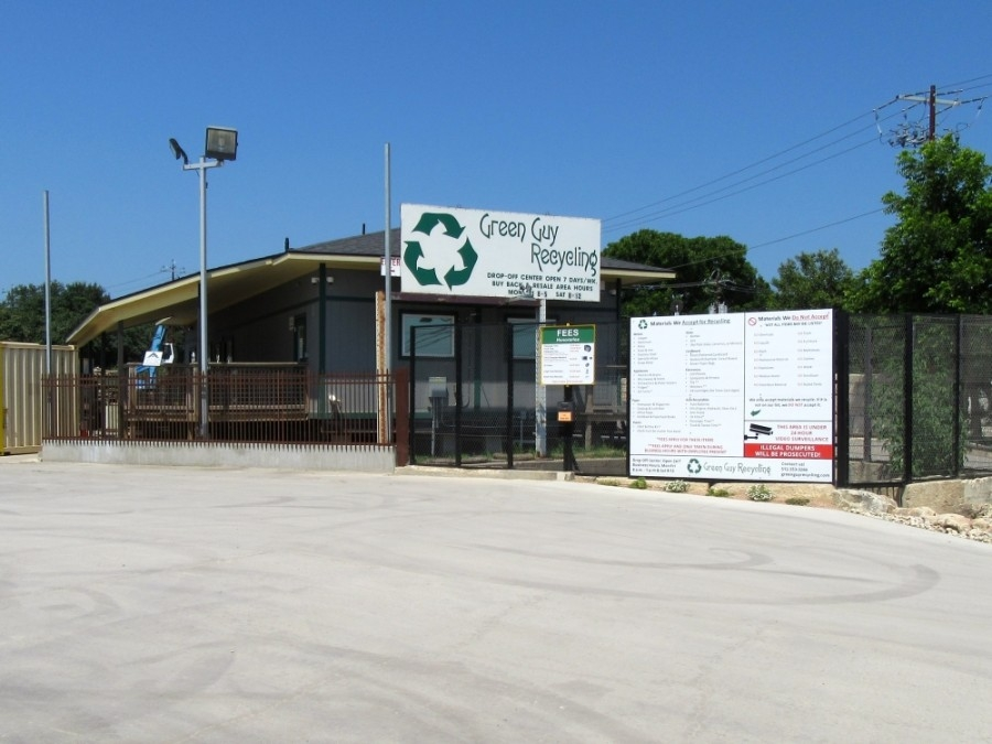 Green Guy Recycling opened in January of 1995. (Courtesy Green Guy Recycling)