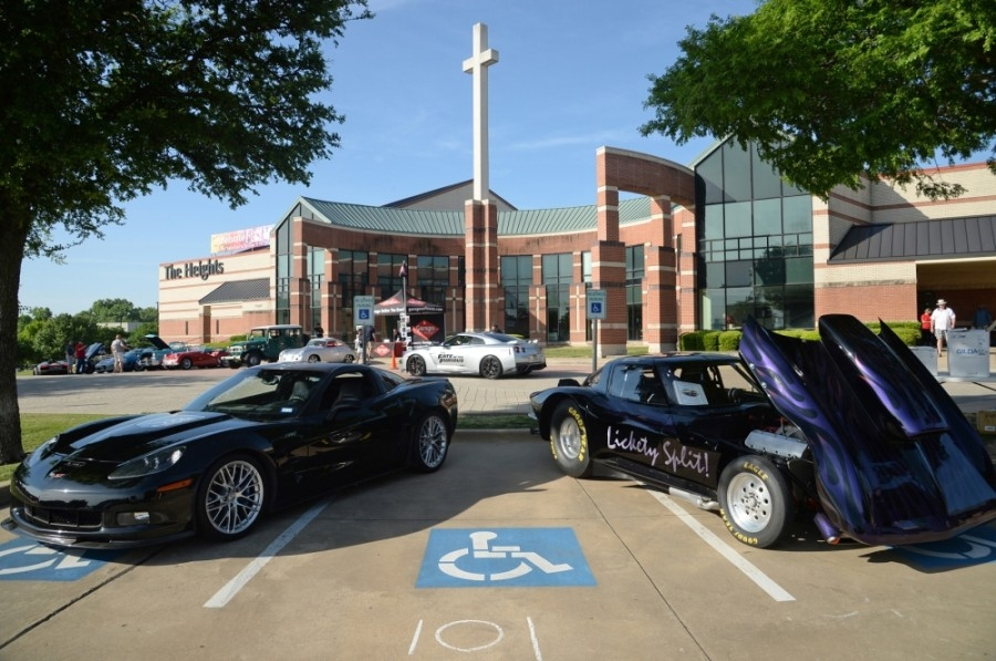The annual Heights Car Show will look slightly different from years past. (Courtesy David Alvey)