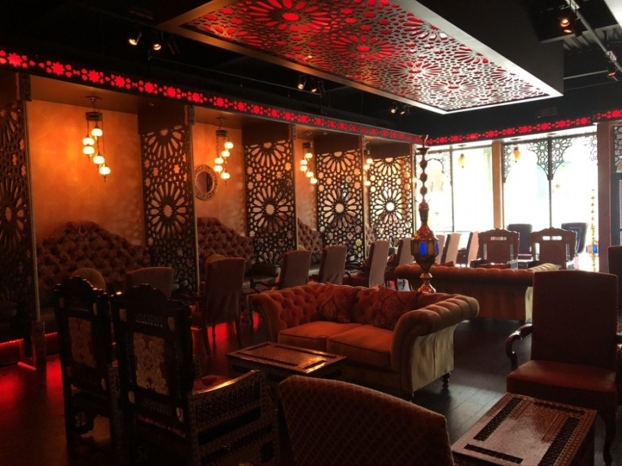 Amore Lounge Cafe & Hookah opened in July in downtown McKinney. (Courtesy Amore Lounge Cafe & Hookah)