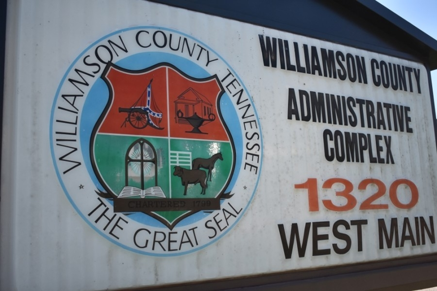 The Williamson County board of commissioners approved a resolution to create a task force to reevaluate the county seal in an 18-5 vote on July 13. (Alex Hosey/Community Impact Newspaper)