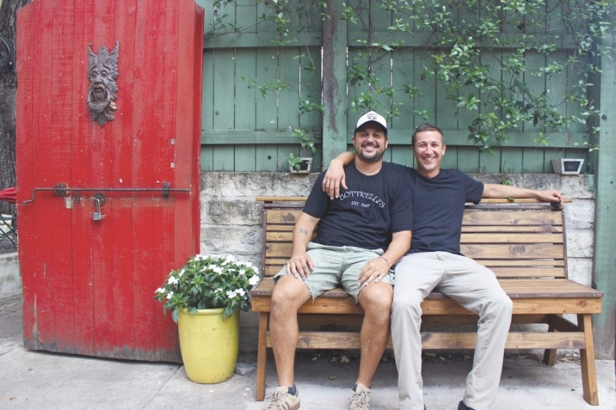 Matt (left) and Andrew Botticelli opened Botticelli's on South Congress Avenue in 2007. (Community Impact Newspaper Staff)