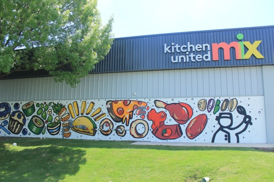 Kitchen United Mix is a shared kitchen facility that opened in North Central Austin in 2020. (Jack Flagler/Community Impact Newspaper)