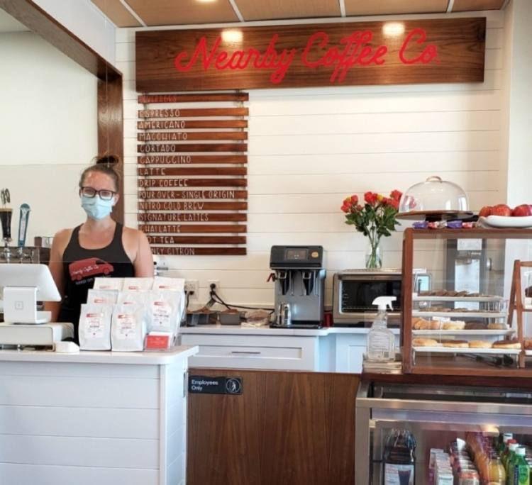 Nearby Coffee Co. is located at 16921 Joe Barbee Drive, Unit B, Pflugerville. (Courtesy Nearby Coffee Co.)