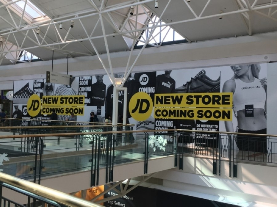 JD Sports will open a new store at The Woodlands Mall this August. (Kelly Schafler/Community Impact Newspaper)