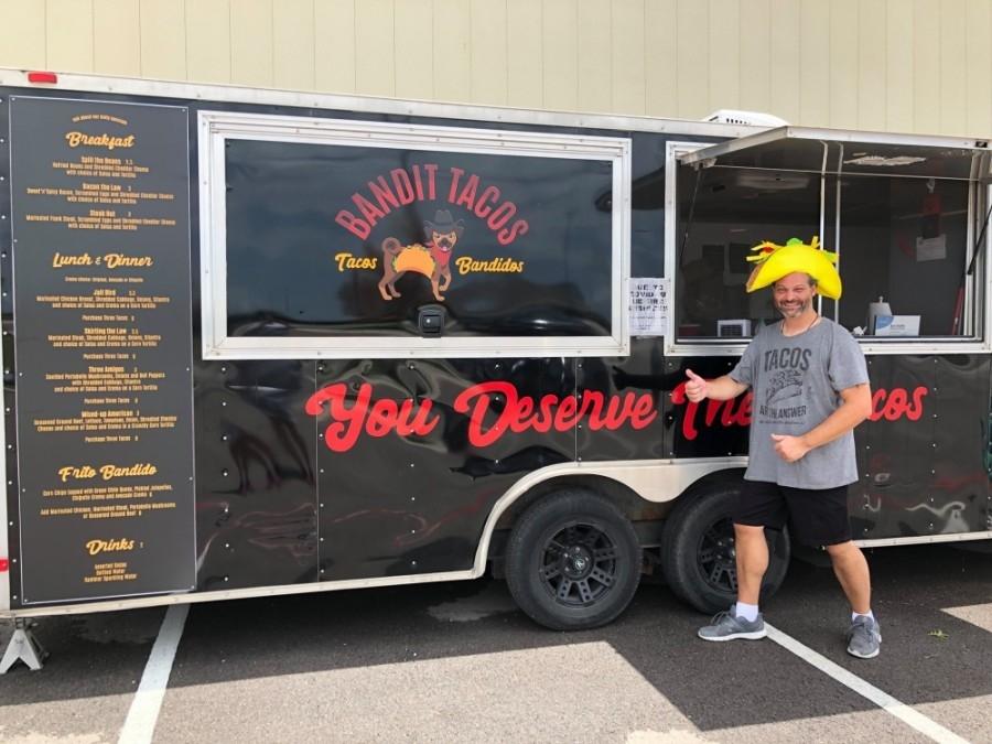 Bandit Tacos opened in Buda on July 4. (Courtesy John Earls)
